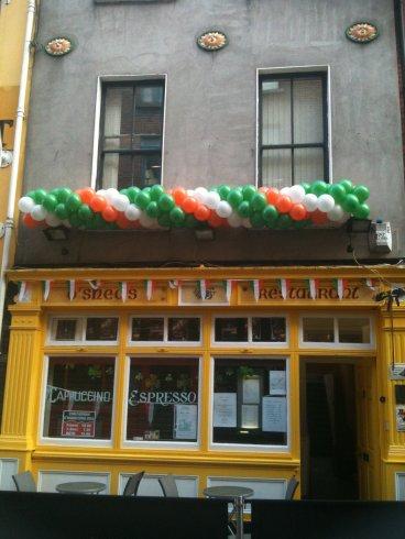 Paddys Day at O'Sheas
