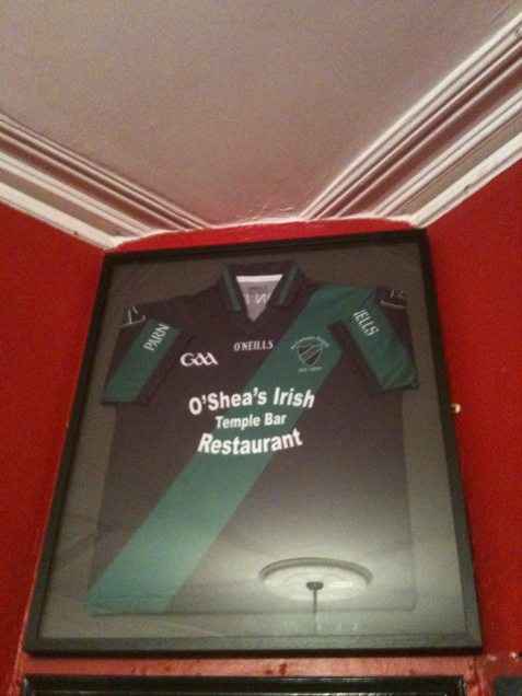O'Sheas Sponsorship of Parnells GAA