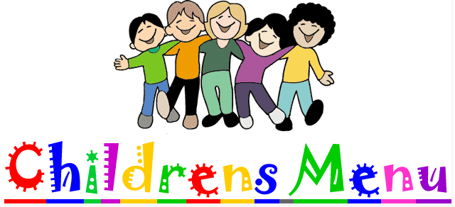 kids menu header